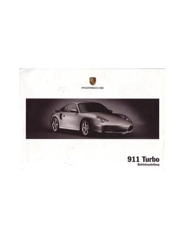 2003 PORSCHE 911 TURBO INSTRUCTIEBOEKJE DUITS