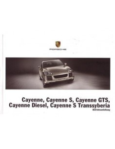 2009 PORSCHE CAYENNE OWNER'S MANUAL GERMAN