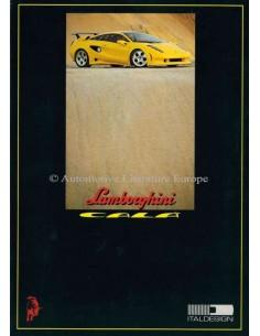 1995 LAMBORGHINI CALÀ BROCHURE ENGELS