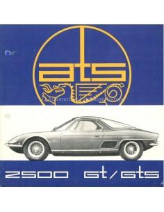 1963 ATS 2500 GT / GTS BROCHURE FRANS