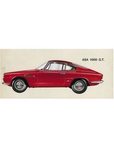 1965 ASA 1000 G.T. COUPE BERONE BROCHURE ITALIAANS