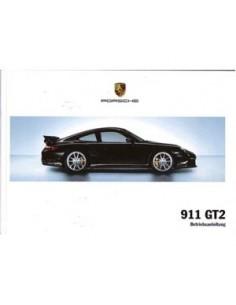 2007 PORSCHE 911 GT2 BETRIEBSANLEITUNG GERMAN