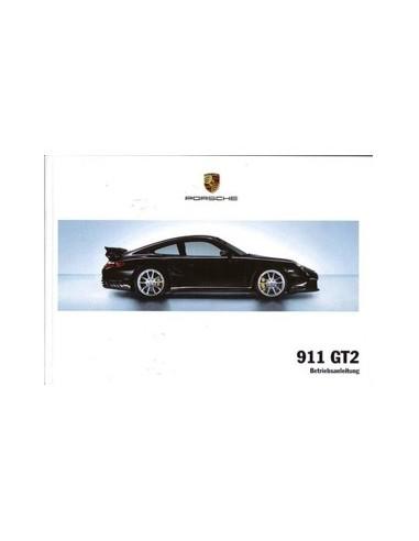 2007 PORSCHE 911 GT2 INSTRUCTIEBOEKJE DUITS