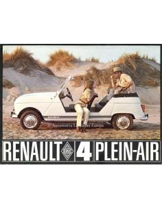 1968 RENAULT 4 PLEIN-AIR PROSPEKT FRANZÖSISCH