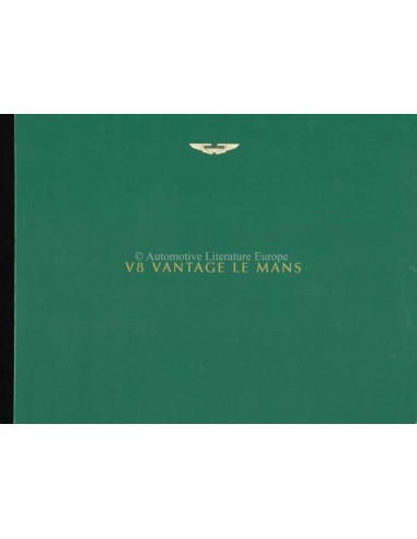 1999 ASTON MARTIN V8 VANTAGE LE MANS HARDBACK BROCHURE ENGLISH