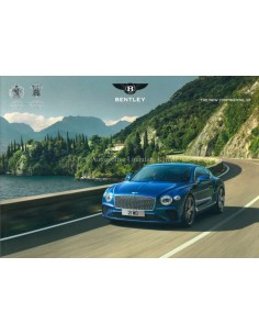 2018 BENTLEY CONTINENTAL GT BROCHURE ENGLISH