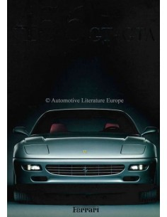 1997 FERRARI 456 GT/GTA BROCHURE 1149/97