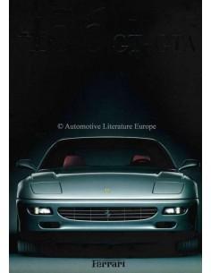 1997 FERRARI 456GT GTA BROCHURE PROSPEKT 1149/97