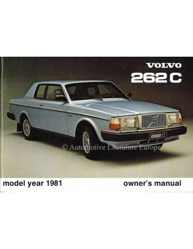 1981 volvo 262 c owners manual english rh autolit eu manual volvo 262 1985 Volvo 240 GL