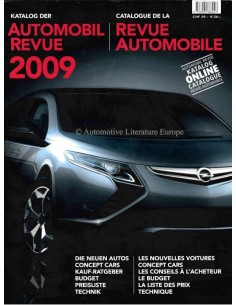 2009 AUTOMOBIL REVUE YEARBOOK GERMAN FRENCH