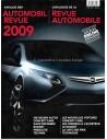 2009 AUTOMOBIL REVUE JAARBOEK DUITS FRANS