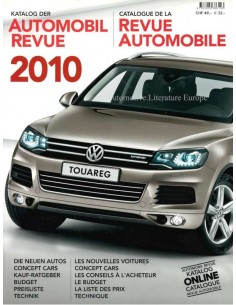 2010 AUTOMOBIL REVUE YEARBOOK GERMAN FRENCH