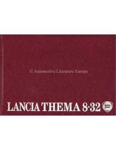 1988 LANCIA THEMA 8.32 BETRIEBSANLEITUNG ITALIENISCH