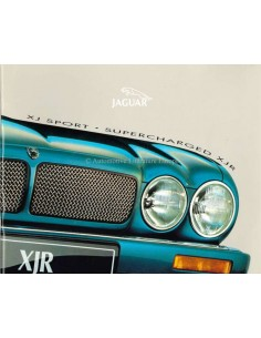 1997 JAGUAR XJR SUPERCHARGED BROCHURE DUTCH
