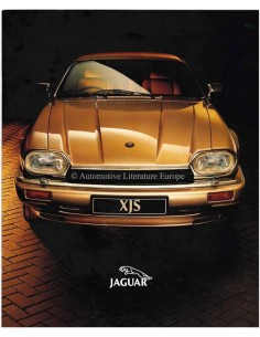 1993 JAGUAR XJS BROCHURE DUTCH