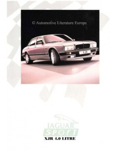 1989 JAGUAR XJR 4.0 SPORT BROCHURE ENGLISH