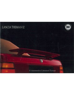 1988 LANCIA THEMA 8.32 BROCHURE ENGLISH