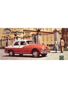 1957 ALFA ROMEO 1900 SUPER PROSPEKT FRANZÖSISCH