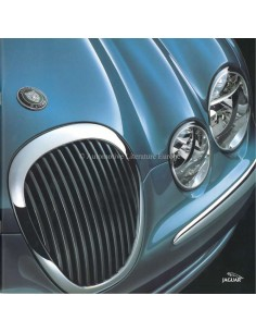 2000 JAGUAR S TYPE BROCHURE DUTCH