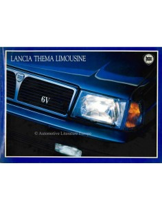 1987 LANCIA THEMA LIMOUSINE BROCHURE ITALIAN