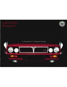 1989 LANCIA DELTA HF INTEGRALE PROSPEKT ENGLISCH