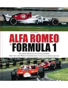 ALFA ROMEO & FORMULA 1 - ENRICO MAPELLI - BOOK