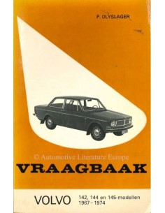 1967 - 1974 VOLVO 140 PETROL WORKSHOP MANUAL DUTCH