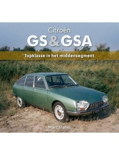 2016 CITROËN GS & GSA - TOPKLASSE IN HET MIDDENSEGMENT - BOEK