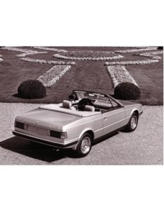 1986 MASERATI BITURBO SPYDER ZATATO PRESS PHOTO