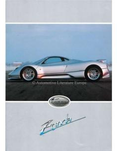 1999 PAGANI ZONDA C12 PROSPEKT