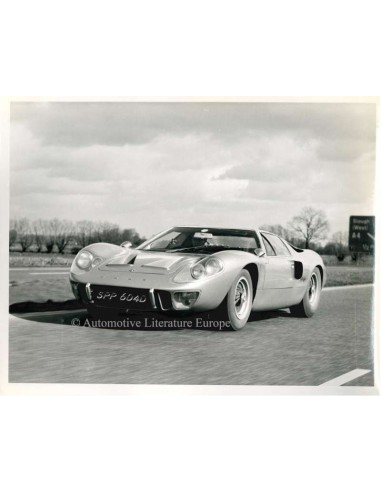 1964 FORD GT40 PRESSPHOTO