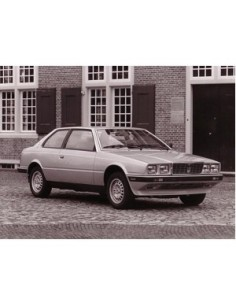 1984 MASERATI BITURBO PRESS PHOTO