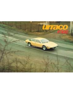 1976 LAMBORGHINI URRACO P300 BROCHURE