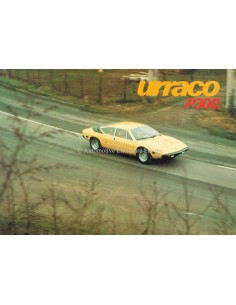 1976 LAMBORGHINI URRACO P300 PROSPEKT