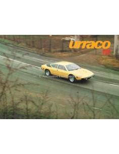 1974 LAMBORGHINI URRACO 111 BROCHURE