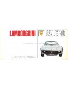 1968 LAMBORGHINI ISLERO BROCHURE