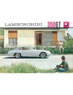1964 LAMBORGHINI 350 GT BROCHURE