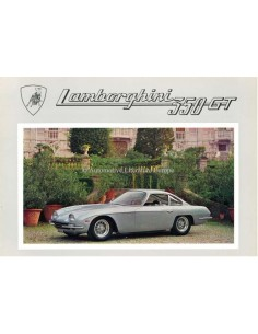 1966 LAMBORGHINI 350 GT BROCHURE