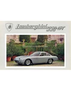 1966 LAMBORGHINI 350 GT PROSPEKT