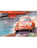 1957 PORSCHE CARRERA BROCHURE ENGLISH