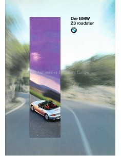 1995 BMW Z3 ROADSTER BROCHURE GERMAN