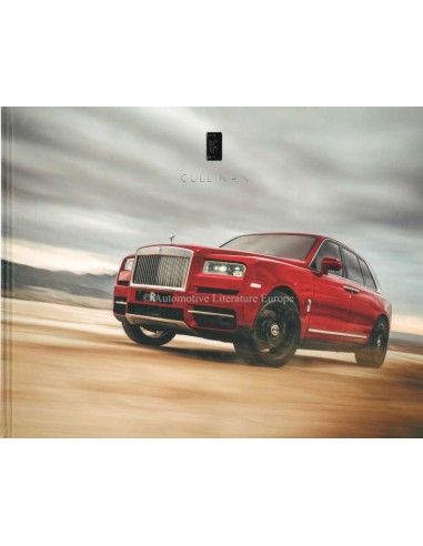2018 ROLLS ROYCE PHANTOM HARDBACK BROCHURE ENGLISH