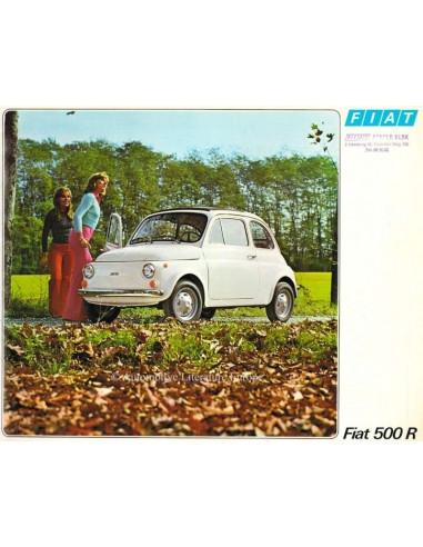 1973 FIAT 500 R BROCHURE GERMAN