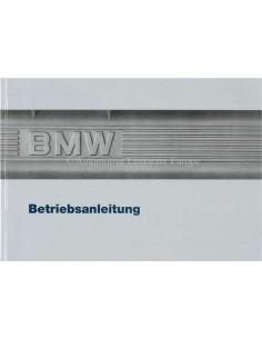 1987 BMW 3 SERIE INSTRUCTIEBOEKJE DUITS