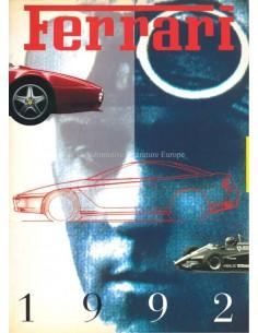 1992 FERRARI JAARBOEK ENGELS 759/93