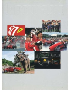 1997 FERRARI YEARBOOK ENGLISH 1273/97