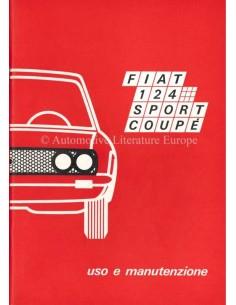 1970 FIAT 124 SPORT COUPE BETRIEBSANLEITUNG ITALIENISCH