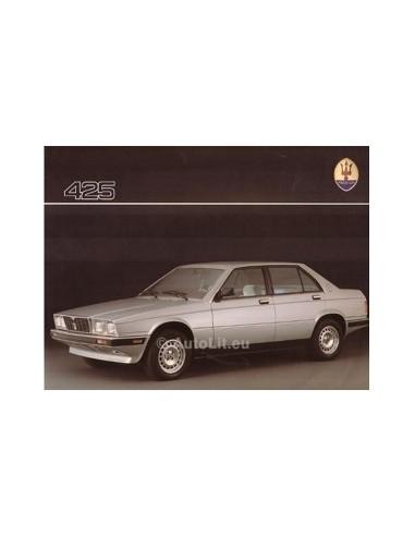 1986 MASERATI 425 LEAFLET ENGELS
