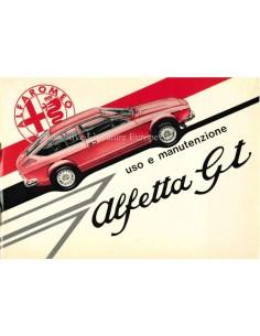 1975 ALFA ROMEO ALFETTA GT OWNERS MANUAL ITALIAN