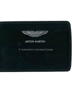 2014 ASTON MARTIN VANQUISH VOLANTE OWNERS MANUAL DUTCH